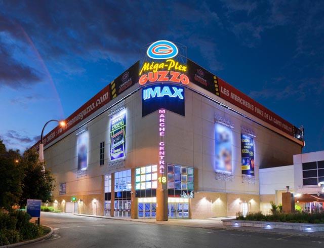 Imax Theater In Montreal Mega Plex March 233 Central 18