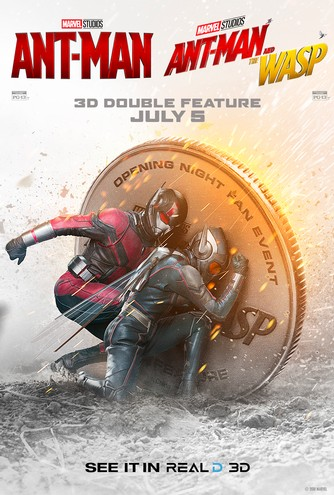 Ant-Man and The Wasp Double Feature - 3D