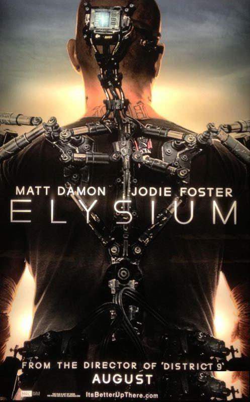 Elysium: The IMAX Experience | Movie Trailer and Schedule