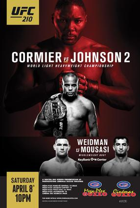 UFC 210: Cormier vs  Johnson 2 | Movie Trailer and Schedule