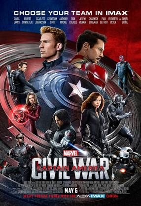 Captain America: Civil War – An IMAX Experience