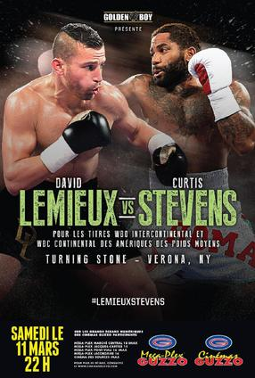 Golden Boy-  David LEMIEUX VS Curtis STEVENS