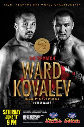 Light Heavyweight World Championship: Ward vs. Kovalev