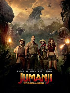 Jumanji: Welcome to The Jungle - 3D