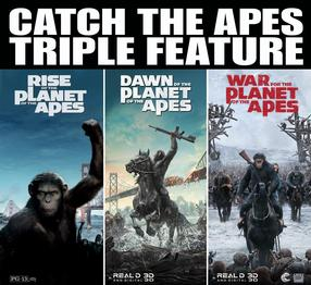 The Apes Triple Feature