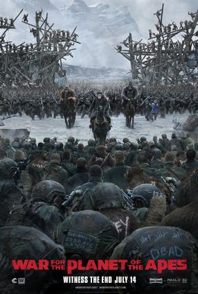 War For The Planet of The Apes - 3D
