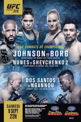 UFC 215: Johnson vs Borg