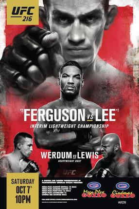 UFC 216: Fervuson vs. Lee