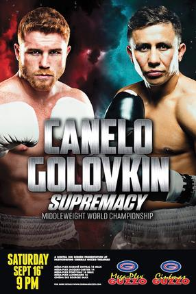 Canelo vs. Golovkin: Supremacy