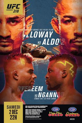 UFC 218: Holloway vs. Aldo