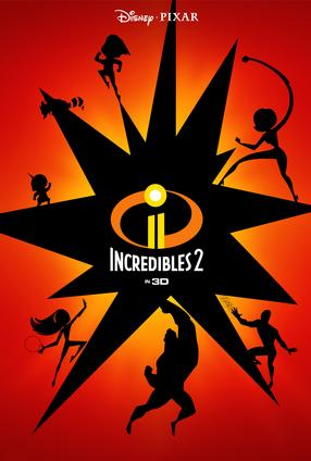 The Incredibles 2 - 3D
