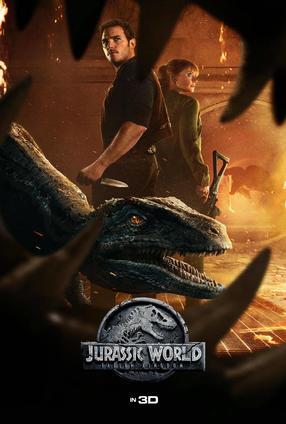 Jurassic World: Fallen Kingdom - 3D | Movie Trailer and Schedule | Guzzo