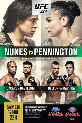 UFC 224: Nunes vs Pennington