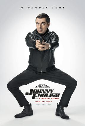 Johnny English frappe à nouveau