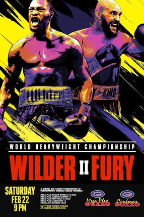 World Heavyweight Championship - Wilder vs Ortiz II