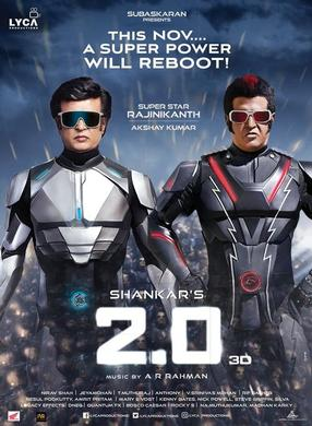 2.0 - 3D (Hindi - English sub-titles)